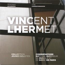 Pochette CD Vincent Lhermet