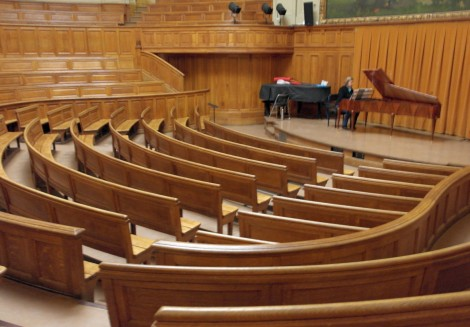 Récital aux Concerts de midi en Sorbonne