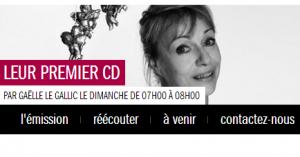 Leur premier CD, sur France Musique
